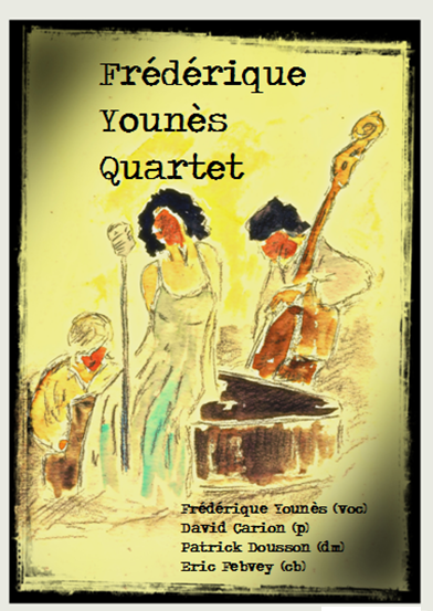 photo affiche Frederique Younes Quartet