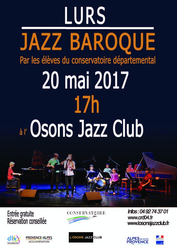 affiche concert 20 mai Jazz Braoque