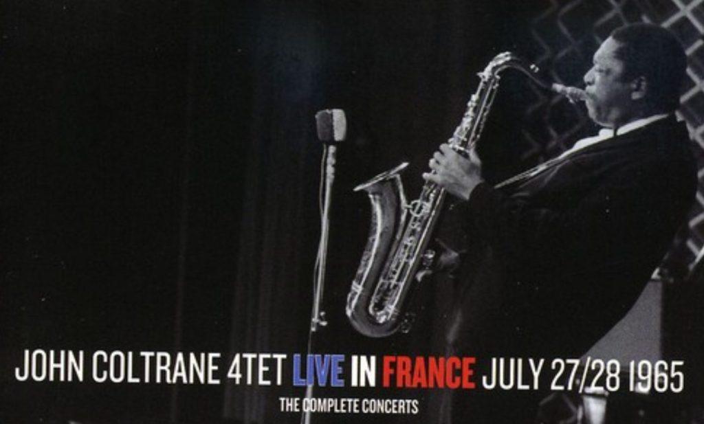 photo John Coltrane : Live in France, 1965