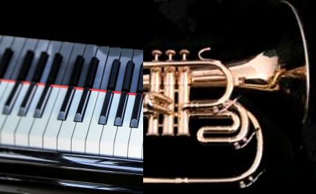 photo Duo mellophon piano