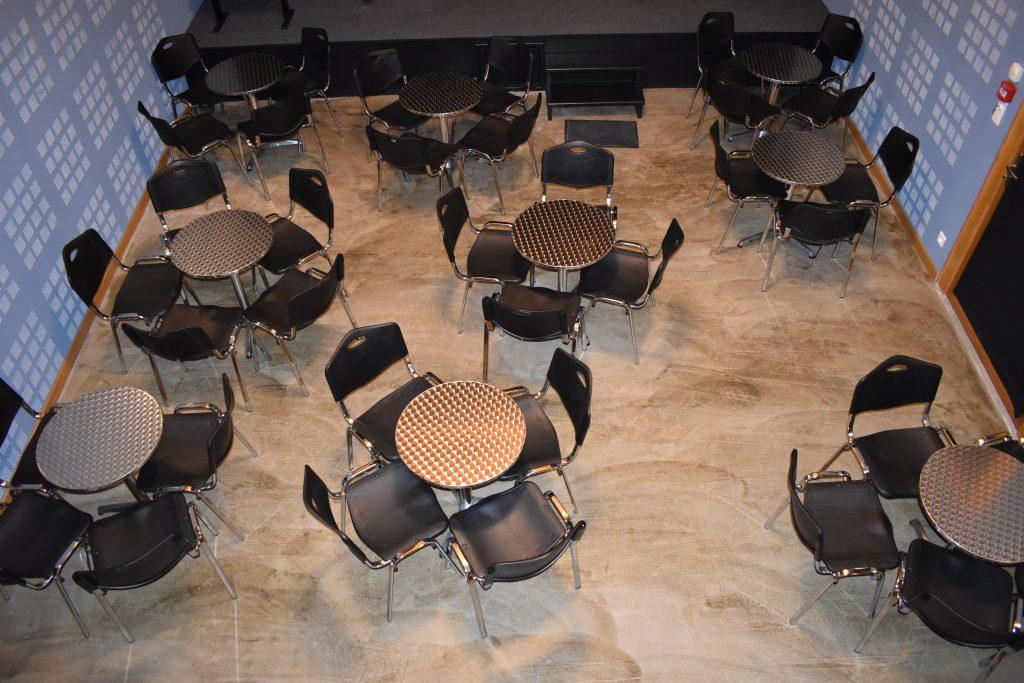 photo salle de concert en configuration jam