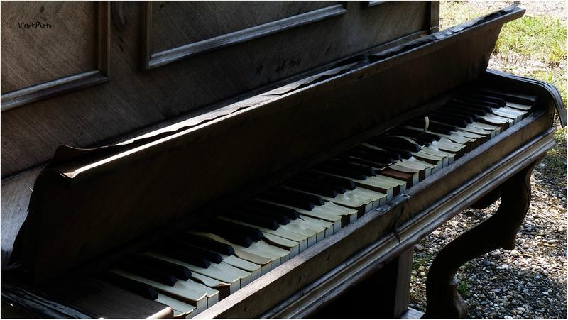 piano cassé