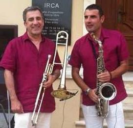 Joannés Kotchian (à gauche) et Michel Egea (à droite)