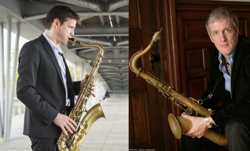Thomas Ibanez et Grant Stewart