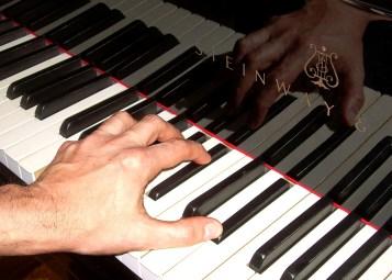 main piano
